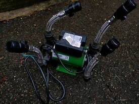Salamander CT50+ Twin Shower Pump (1.5 Bar)