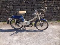 1969/ 1970 Raleigh RM8 Runabout / Classic / Vintage Moped
