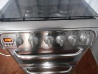 """CANNON""""KESWICK""""DOUBLE OVEN ALL GAS COOKER**S/STEEL**"""