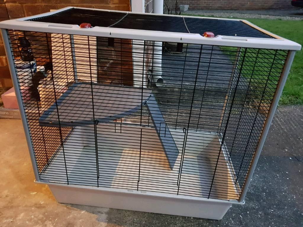 Furat Plus Rat Cage