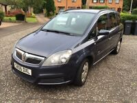 Vauxhall Zafira 1.6 7 Seater Long Mot £1100 Ono