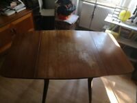 G plan butterfly drop leaf dining table