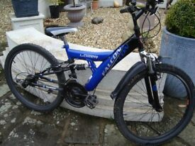 FALCON LAZER 24INCH WHEELS 14INCH FRAME COST £179 DAMAGED BRAKE LEVER AND GEARS HENCH ONLY £15