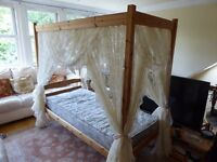 Child's Four Poster Bed