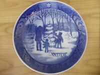 ROYAL COPENHAGEN CHRISTMAS AND WINTER SCENES PLATES