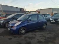 2004 micra priced to clear full mot