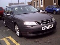 2007 07 SAAB 9-3 2.0T AUTOMATIC AERO ESTATE ** 56200 MILES ** MOT JUNE 2017 ** JUST SERVICED