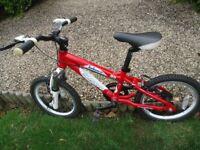 "Carerra Blast 16"" bike"