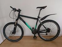 Commencal Normal Hardtail Mountain Bike + Rockshox xc32 reomote lockout