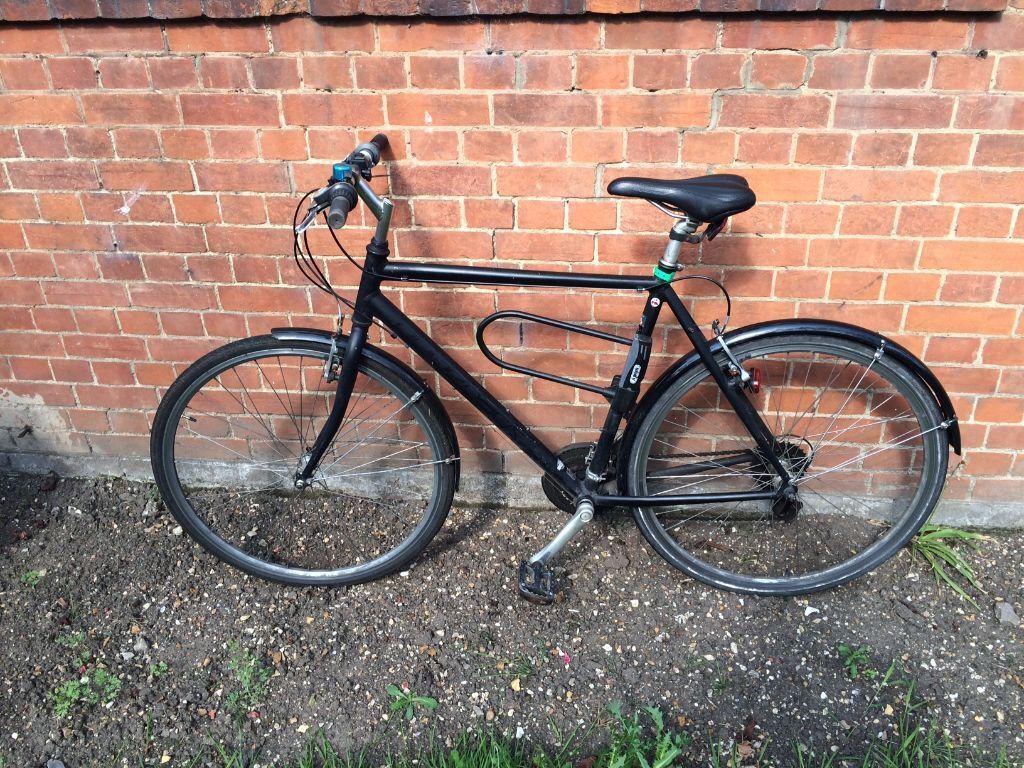 second hand bike sale d lock included ridgeback. Black Bedroom Furniture Sets. Home Design Ideas