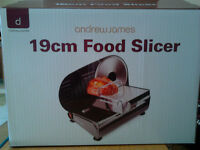 Andrew James Food Slicer 19cm blade