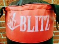 Genuine BLITZ 5ft punchbag. Excellent condition