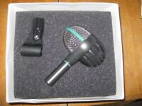 Drum mic AKG D112 (pre-owned but hardly used - if ever)