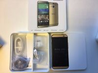 HTC One M8 in box with all accessories SIM FREE UNLOCKED