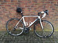 Moda Stretto 58cm carbon road bike, ultegra