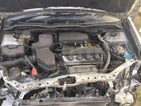 HONDA CIVIC AUTOMATIC ENGINE AND GEAR BOX