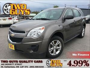 2012 Chevrolet Equinox LS LOW KMS! BLUETOOTH - ALLOYS- FWD