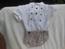 Baby Unisex Romper Suit.