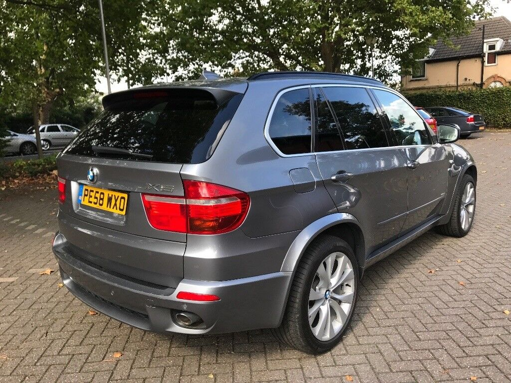 Bmw X5 M Sport 2008 7 Seater Panoramic Roof In Ipswich