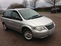Yaught Sized 7 Seater with Quality-06 Chrysler Voyager 2-4 petrol, 74k full MOT, Beautiful £1795 PX