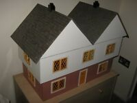 Large Hand Made Tudor Dolls House with 6 Rooms