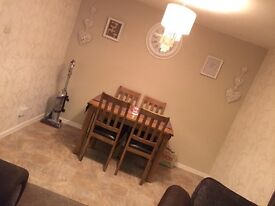 Home swap 2 bed fff west moors