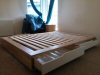 MANDAL Queen Double Bed (160x200 )