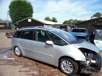 2010 C4 GRAND PICASSO EXCLUSIVE 2.0HDi RHH CURRENTLY BREAKING VEHICLE SPARES CALL 0121 3521462