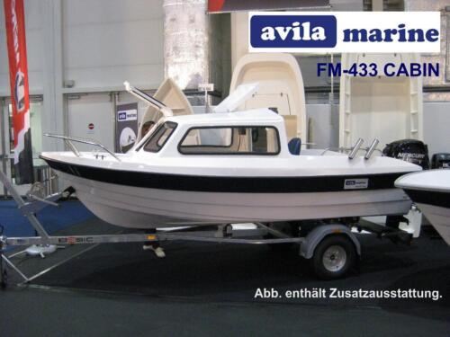 kaj tboot avila marine fm 433c cabin motorboot. Black Bedroom Furniture Sets. Home Design Ideas