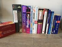 Medical student university textbooks