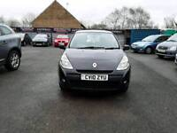 10 plate Renault Clio 1.2 EXPRESSION IN BLACK 1 PREVIOUS OWNER 50K