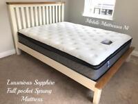 ➡️➡️ Luxurious full hotel ~ 12 inch deep ~ full pocket sprung & pillow top Mattresses