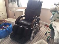 Almost New Complete Leg, Foot and Back Massage Armchair