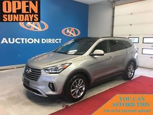 2017 Hyundai Santa Fe XL LUXURY! 3 ROWS! NAVI! SUNROOF! LEATHER!