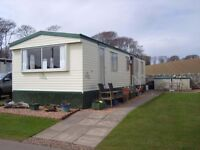 CARAVAN FOR HIRE,RED LION CARAVAN PARK,ARBROATH,3 BEDROOMS,FULLY EQUIPPED,BEDDING SUPPLIED,