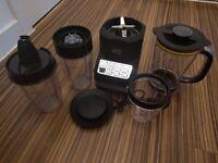 Bella Extract-Pro Jug Blender - Black