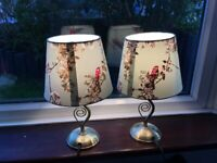2 bedside lamps. fully working.