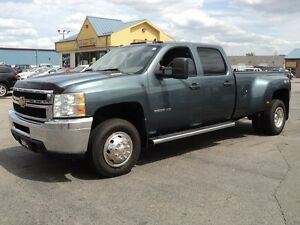 2012 Chevrolet Silverado 3500 CrewCab 4X4 DRW 6.0 L 8ft Box