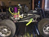 Remote control Petrol engine car