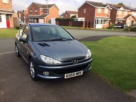 Peugeot 206 sport full Service history Only 2 owner