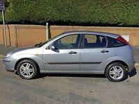 Ford Focus 1.6 Zetec 2004 - Metallic Silver - 5 door hatchback