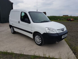 09 Peugeot Partner – ONLY 69K MILES, Great van