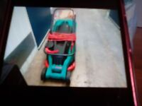 Bosch Rotack 36. 1400w. Electric Lawnmower. Used but good working order.