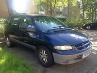 2000 Chrysler Voyager 7 Seater People Carrier Blue