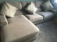 Light corner sofa