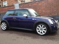 L@@K 2005 MINI COOPER S 1.6 SUPERCHARGER 170 BHP ALLOYS HALF LEATHERS A/C