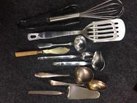 25 Assorted Kitchen Utensils
