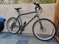 Carrera Subway 1 One Hybrid Mountain Bike XL (frame 22 inch, 24 speed) Disc brakes