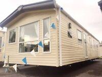 Cheap 3 bedroom caravan for sale in Tenby on Kiln Park double glazed & central heated