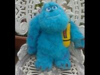 LARGE SULLY MONSTERS INC SOFT TOY. LOTS OF SOFT TOYS FOR SALE. NURSERY. BEDROOM. COLLECTABLE